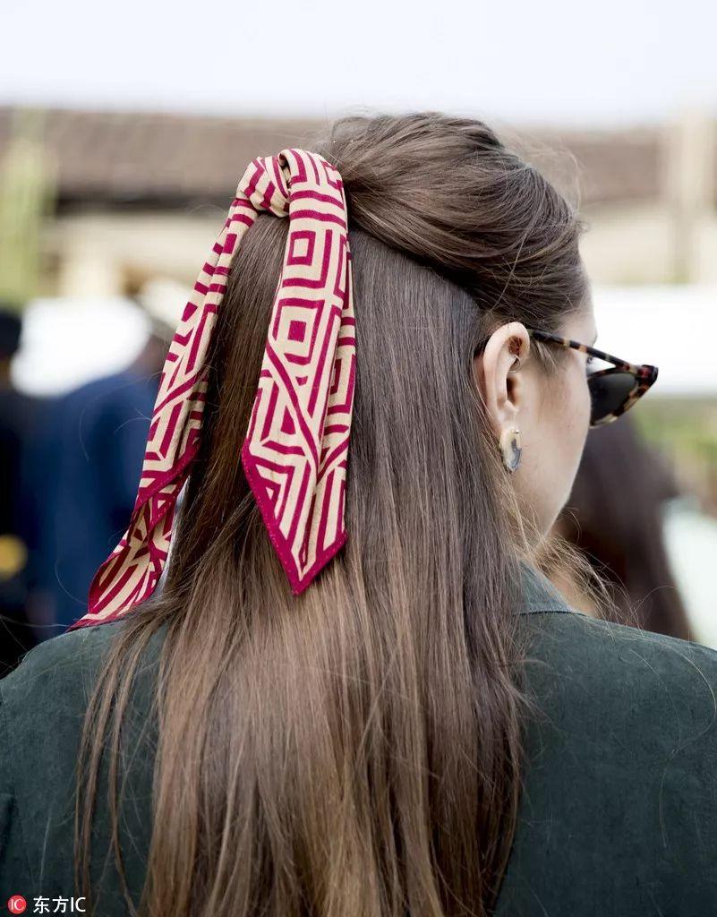 花样百变Hair Ribbons 夏天度假怎么可以少了它