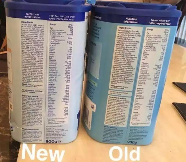 左边是新版,右边是旧版
