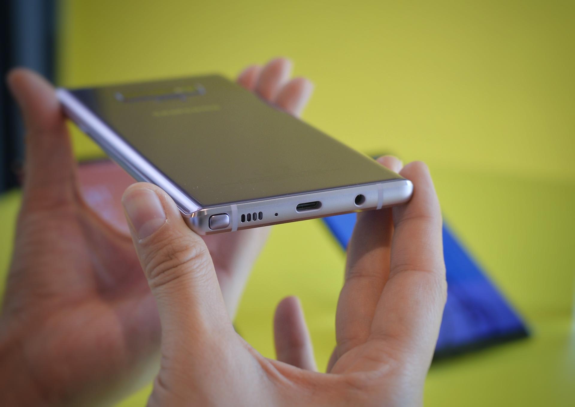三星 Galaxy Note 9 上手体验:S Pen是点睛之笔的照片 - 4