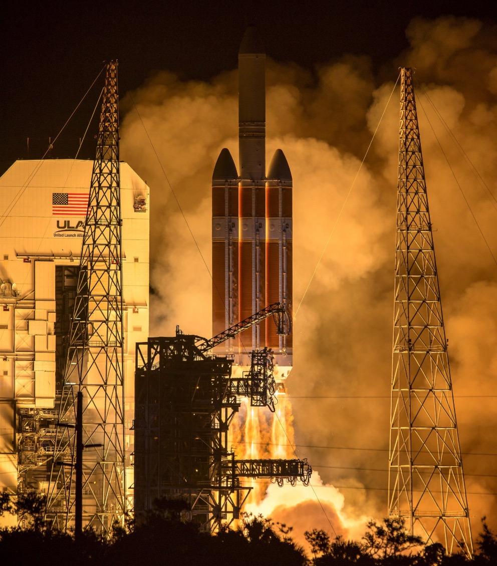 """NASA""""帕克""""号探测器发射 展开""""触摸""""太阳之旅"""