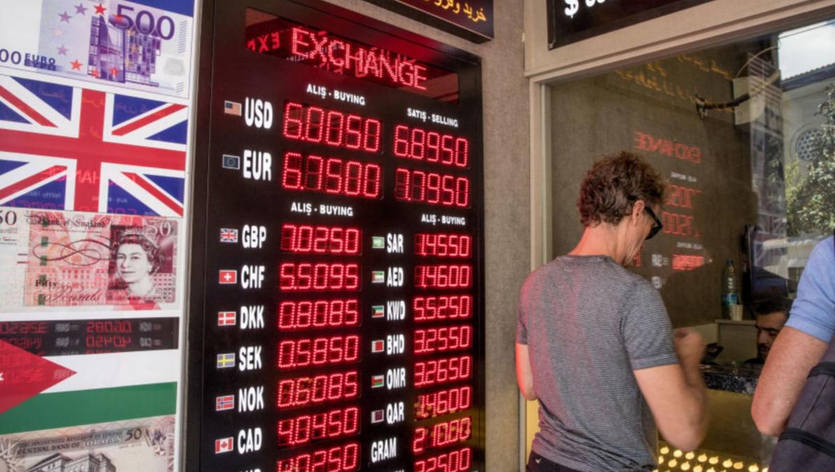外媒:土耳其今年年内通胀率已高达101%