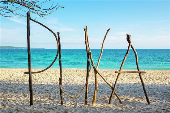 普卡沙滩是长滩岛的第二大沙滩,听说梁静茹的婚纱照就是在这里拍的.