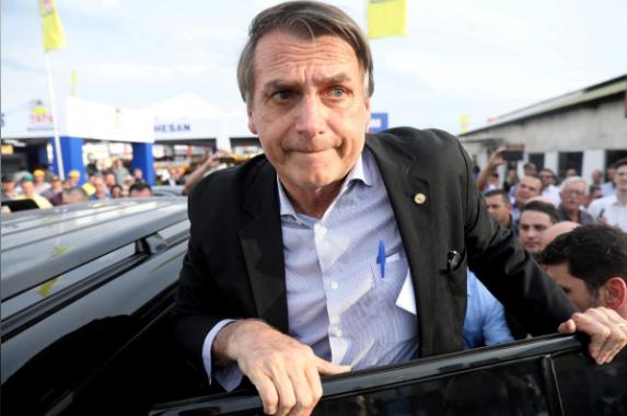 巴西总统候选人弗拉维奥·博尔索纳罗(Flavio Bolsonaro)被刺