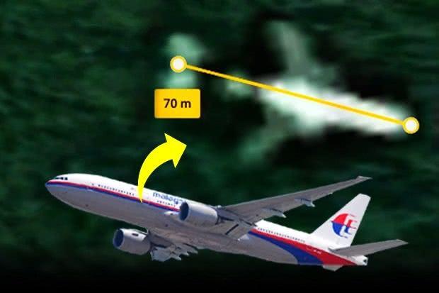 失事MH370深藏在柬埔寨密林中 卫星搜寻未见残骸图片