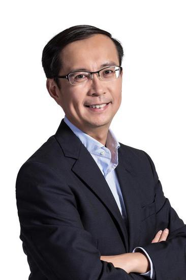 """图/将在一年后接任董事局主席的张勇,被马云称为合伙人机制下人材梯队中的""""杰出商业领袖""""。"""