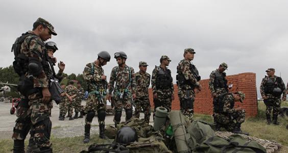 尼泊尔不参加在印度军演却和中国联演让印不满