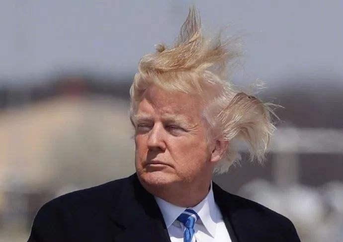 又一新书爆料!特朗普:我的发型很搞笑 但我不想换
