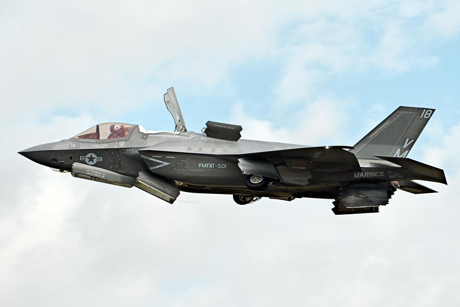 F-35B完成首次实战打击 每小时飞行费用35000美元截图