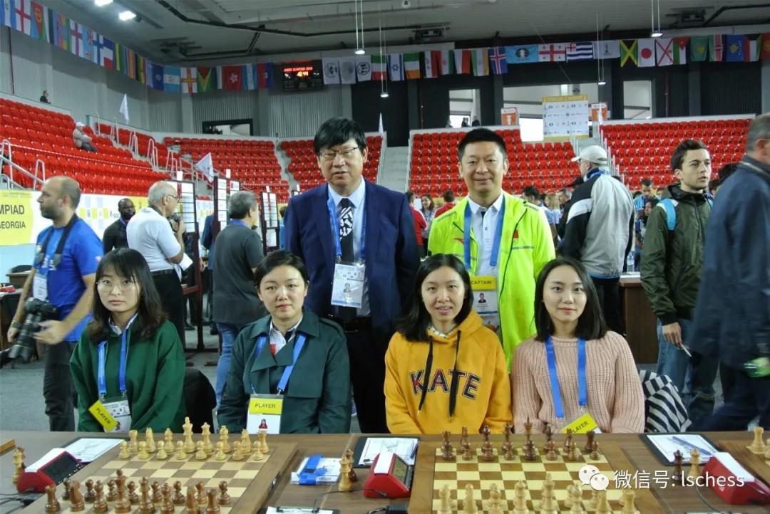 中国女队收官战打平俄罗斯 国际象棋奥赛六度夺魁
