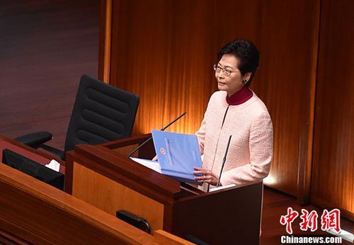 林郑月娥:香港未来新增政府供地中 七成用于公营房屋