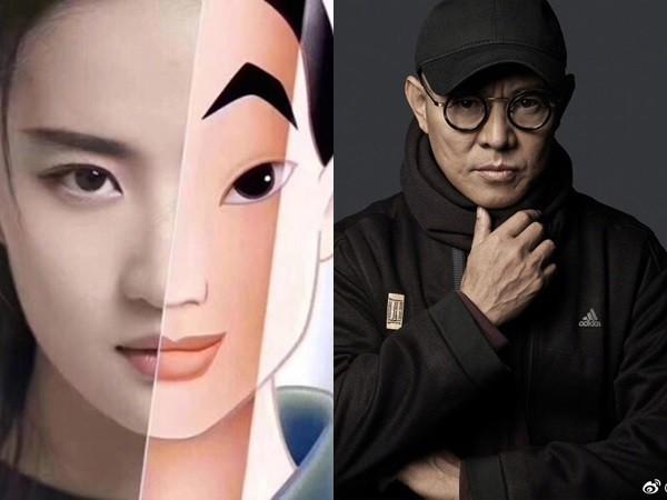 李连杰自曝接《花木兰》内幕,全因15岁女儿一句话