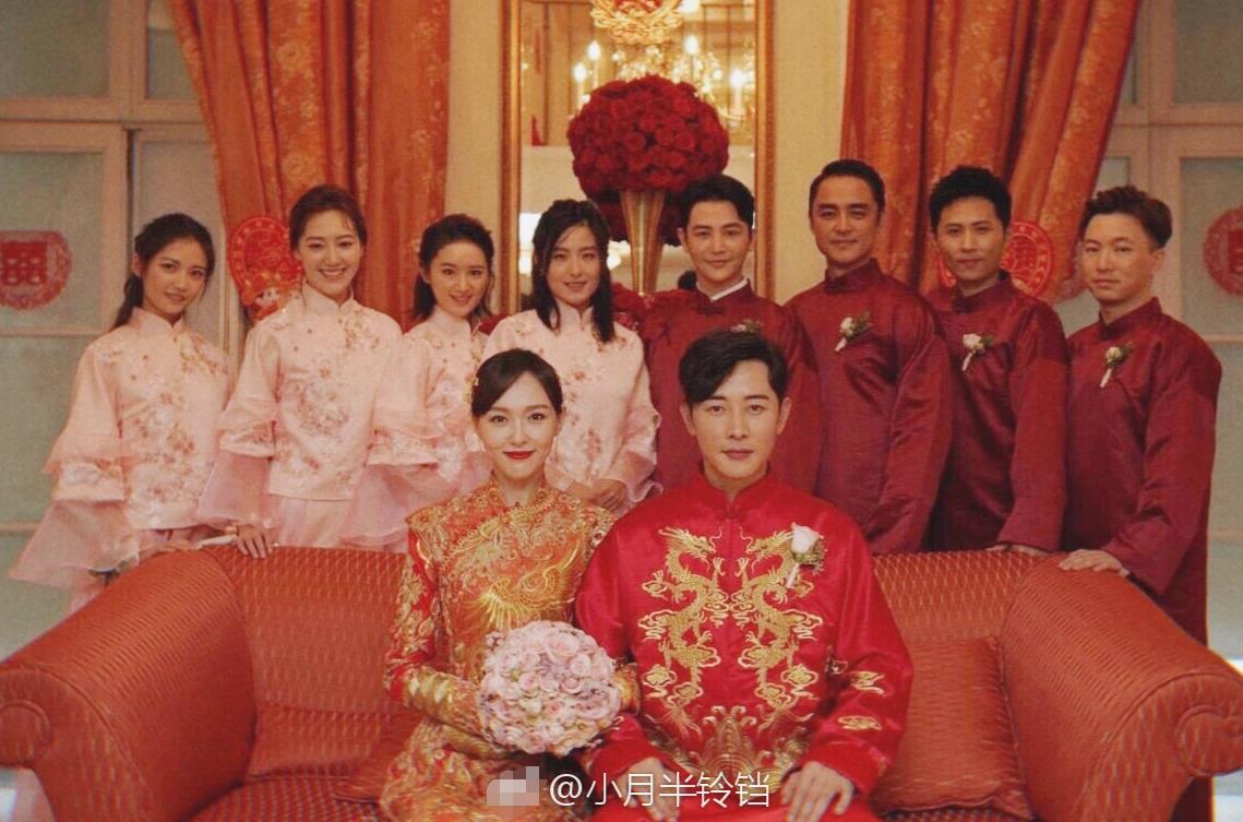 唐嫣罗晋婚礼现场曝光 新人身穿中式礼服现身