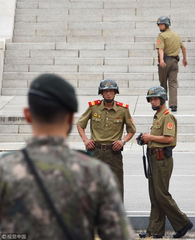 韩国防部:明起朝韩将停止陆海空一切敌对行动