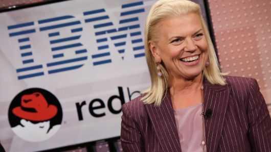 剛收購紅帽 IBM CEO即買入300萬美元公司股票