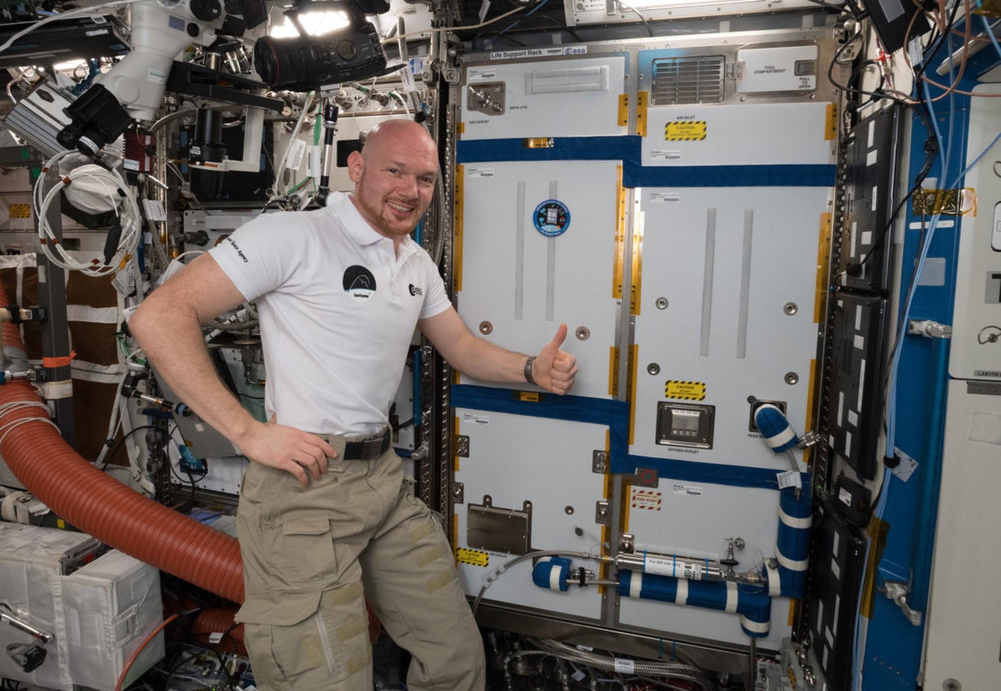 技术突破:国际空间站新安装的生命支持系统 未来将无限期地维持航天员生命活动