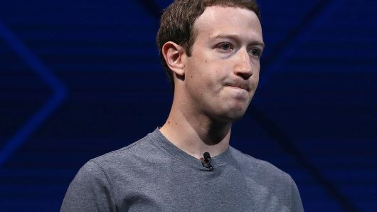 Facebook股价创去年4月以来新低 小扎净资产缩水近300亿美元