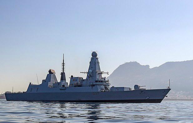 英媒曝光英驱逐舰5月驶入黑海 17架俄战机紧急升空