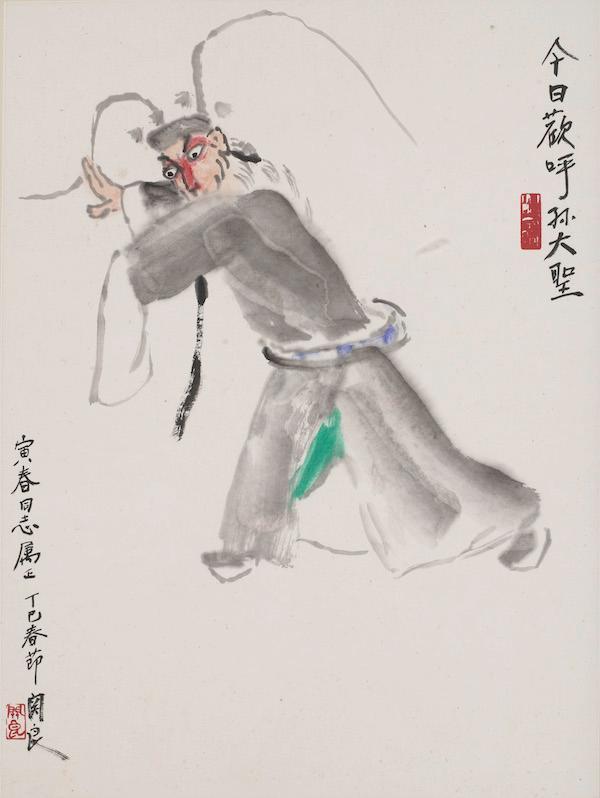 """以戏入画,长沙博物馆呈现""""戏墨之美"""""""