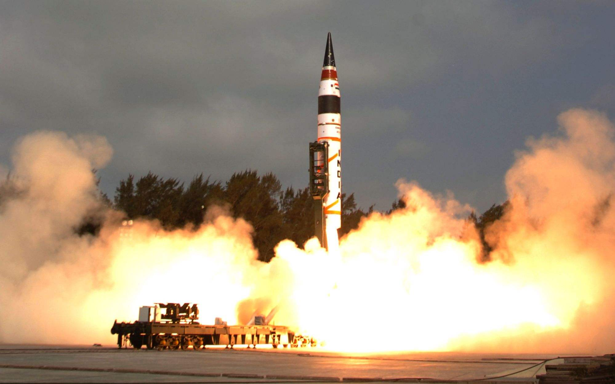 印度成功试射洲际导弹 疑似装备前最后一次试射