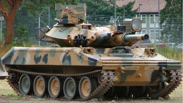 美军轻坦方案曝光 顶着主战坦克大脑袋的小身板