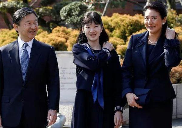 ▲日本皇太子德仁亲王一家