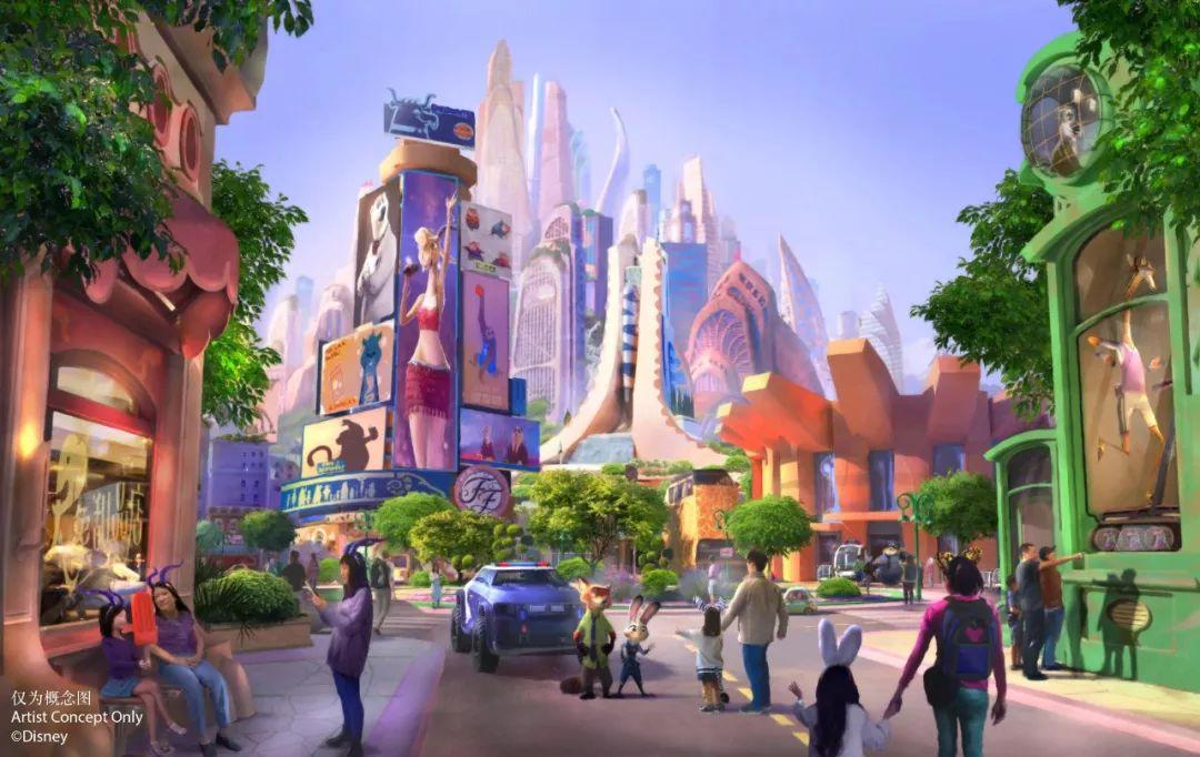 """全球首个""""疯狂动物城""""落沪 将成上海迪士尼第八个主题"""