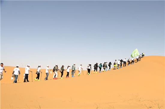大自然家居携手中国绿化基金会,共筑阿拉善生态安全屏障
