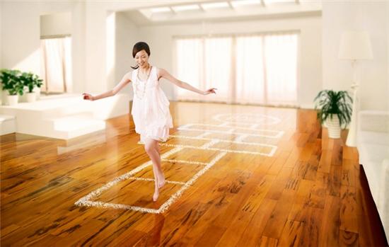 家有安信实木地板,向往的生活不用驱车几十里