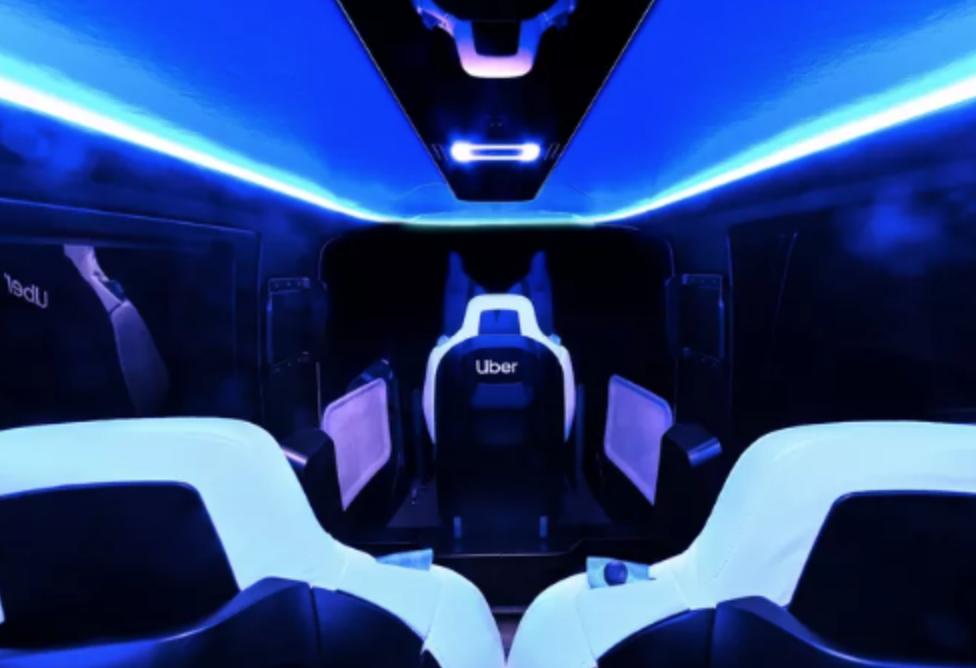 全球首个空中出租车展示:内部设计太带感