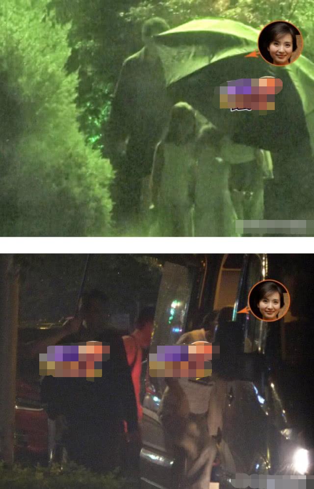 陈好被曝生三胎后现身,带俩女儿冒雨出门聚餐