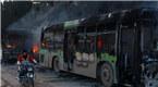 叙利亚阿勒颇撤离进程恢复 大巴遭袭击被焚毁