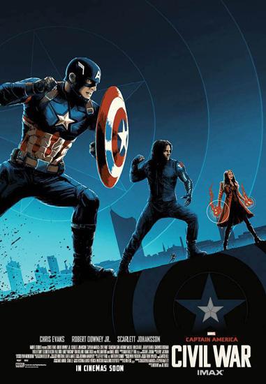 罗素兄弟《美国队长3》放大招 IMAX新摄影机助阵终极对决