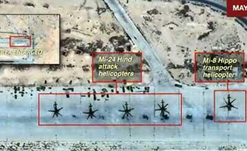 直击:俄军驻叙基地遭袭 大批军机被毁现场惨烈