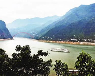 三峡水库巫山水位逼近150米