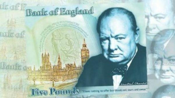 英央行首次发行塑料钞票 面值5英镑将于9月流