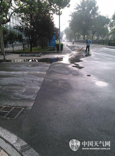 北京今日午后将有雷雨 局地伴大风或冰雹