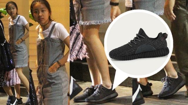 陈奕迅11岁女儿长腿吸睛 脚上一双鞋市价2万(图)【星看点】