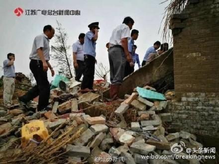 江苏局地遭龙卷风冰雹侵袭已致78死(图) - 和蔼一郎 - 和蔼一郎