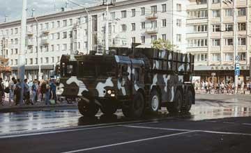 白俄展示中国造A200远程火箭炮 精度堪比导弹