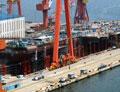 国产航母建造收尾