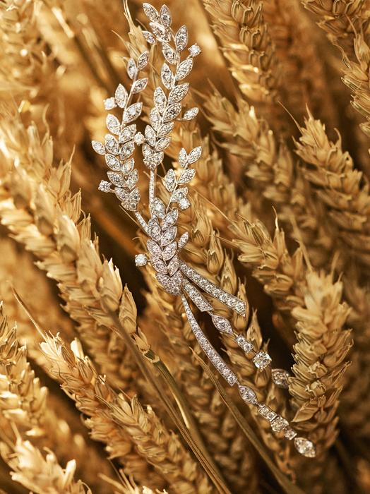 香奈儿首以麦穗为灵感的LES BLES DE CHANEL珠宝系列