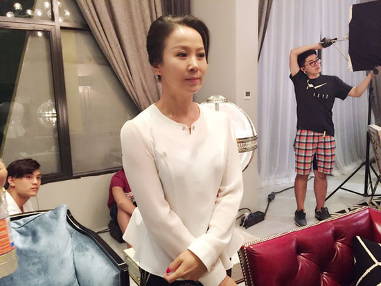 【美人鱼乐】她是《三国》中绝色美人,唐国强同学,51岁丁克无子