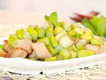 3分钟一道养生菜:芦笋炒里脊