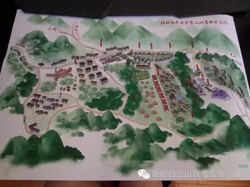 营地手绘图