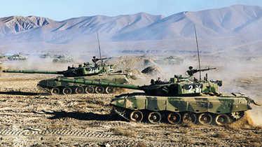 曝中国陆军战术机动速度翻番 仅次于美军