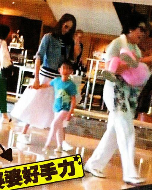 【星娱TV】44岁阔太黎姿全家出游 三代同堂共享天伦