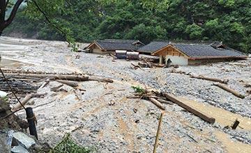九寨沟发生特大泥石流灾害