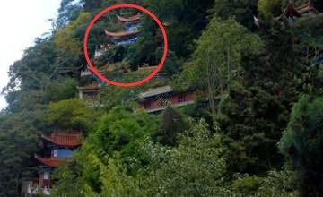 震惊!中国竟然有八大悬空寺 而你却只知其一
