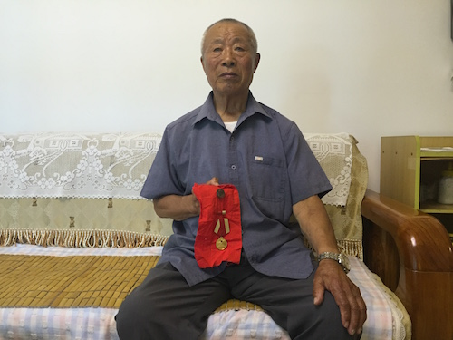 麦岛家园87岁老兵讲述解放战争的峥嵘岁月