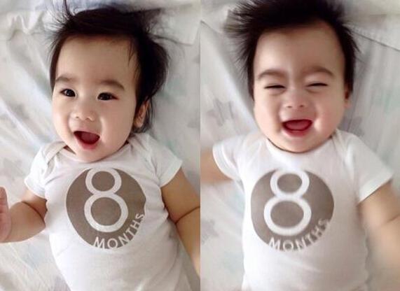 【星娱TV】林志颖双胞胎儿子8个月照片曝光 一家五口高颜值